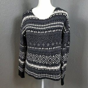 American Eagle Outfitters Sweater M Fair isle